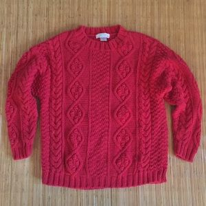 Compagnie Internationale Express Chunky Cable Knit